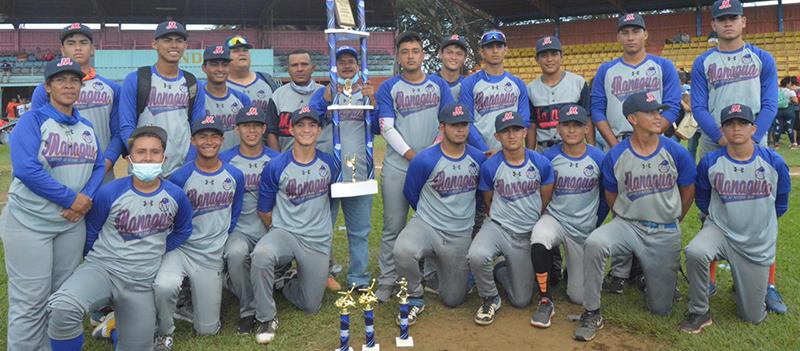 Managua barriendo en la Juvenil: Campeón AA