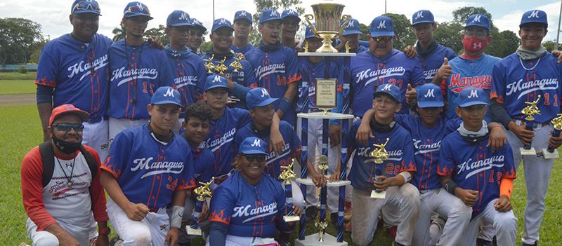 Managua es el campeón nacional Juvenil A