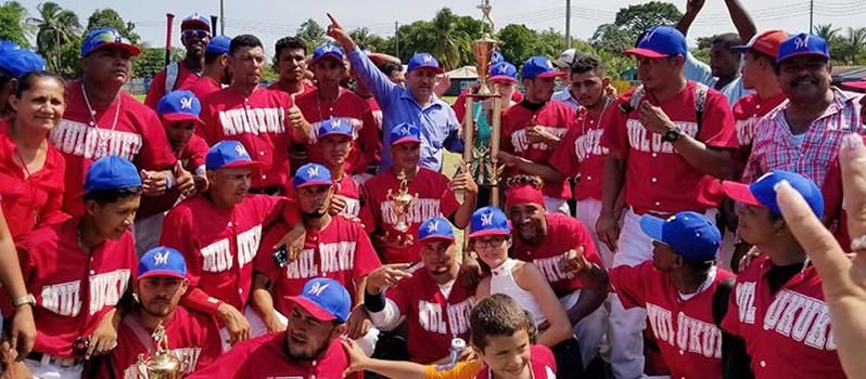 Mulukukú es doble campeón de beisbol